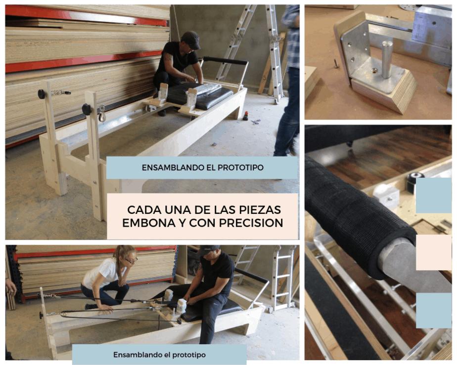 fabricación de camas de pilates