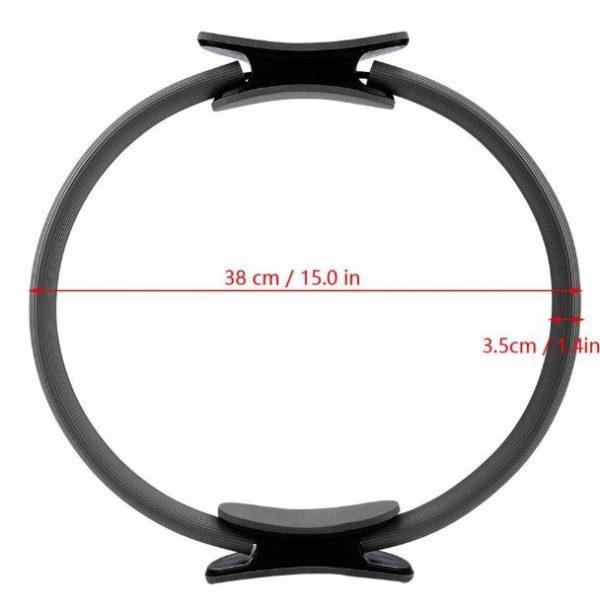 anillo de pilates medidas