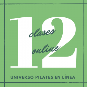 12 clases en línea de pilates piso