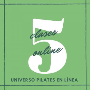 5 clases en línea de pilates piso