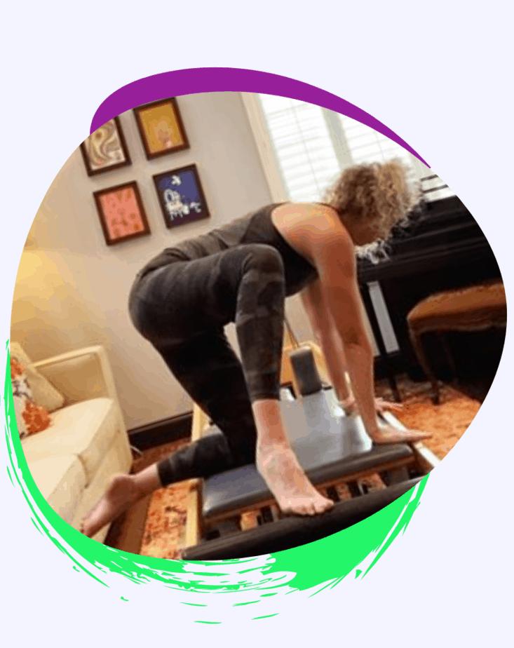 Clases en línea de pilates reformer 2